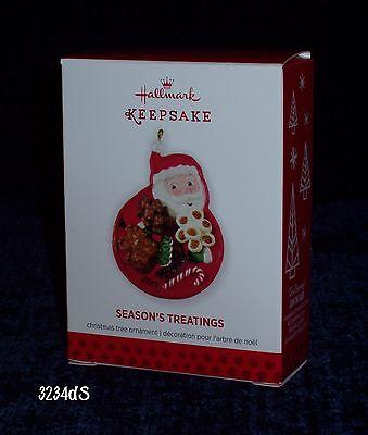 HALLMARK KEEPSAKE CHRISTMAS ORNAMENT SEASON/'S TREATINGS DATED 2013 5TH IN SERIES