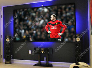 4 x cambia colore collegamento striscia led illuminazione tv vetrina