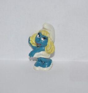 SMURFETTE-vintage-PVC-Figure-1980s-Schleich-PEYO-Smurfs
