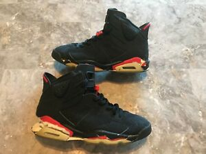 53eb88c2b099 2000 OG Nike Air Jordan 6 VI Retro Black Infrared Size 10.5 (136038 ...