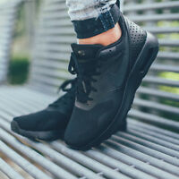 Nike Air Max Tavas GS Triple Black New 100% Authentic Nike Trainers Casual Shoes