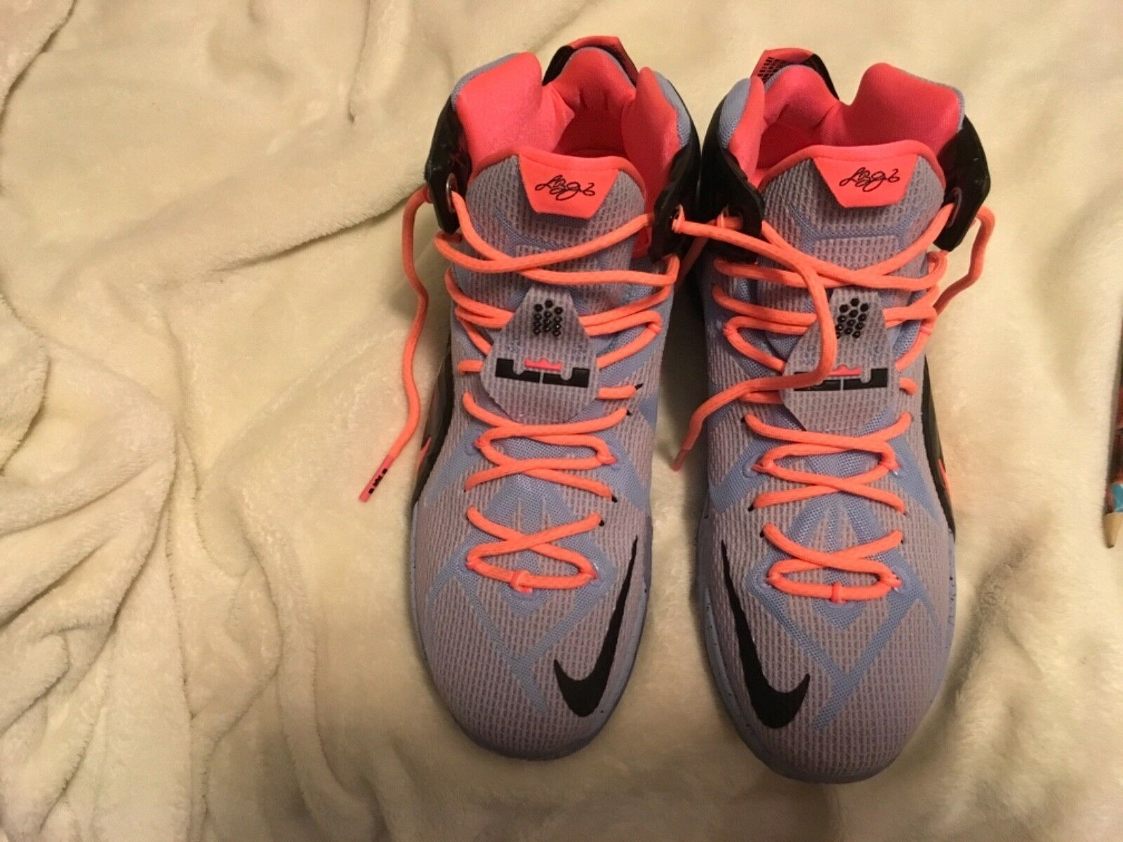 Men's Nike Lebron Easter 12 Comfortable Wild casual shoes