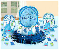 Shower With Love Baby Boy Shower Table Decorating Kit Party Supplies 23pc