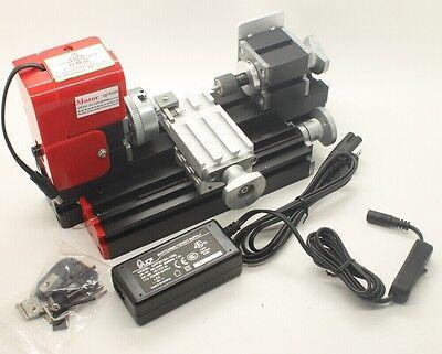 Mini lathe machine diy tool metal material machine wood for Tornio modellismo