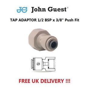 John-Guest-1-2-BSP-x-3-8-034-ajustement-par-poussee-Raccord-Robinet-Ro-Unite