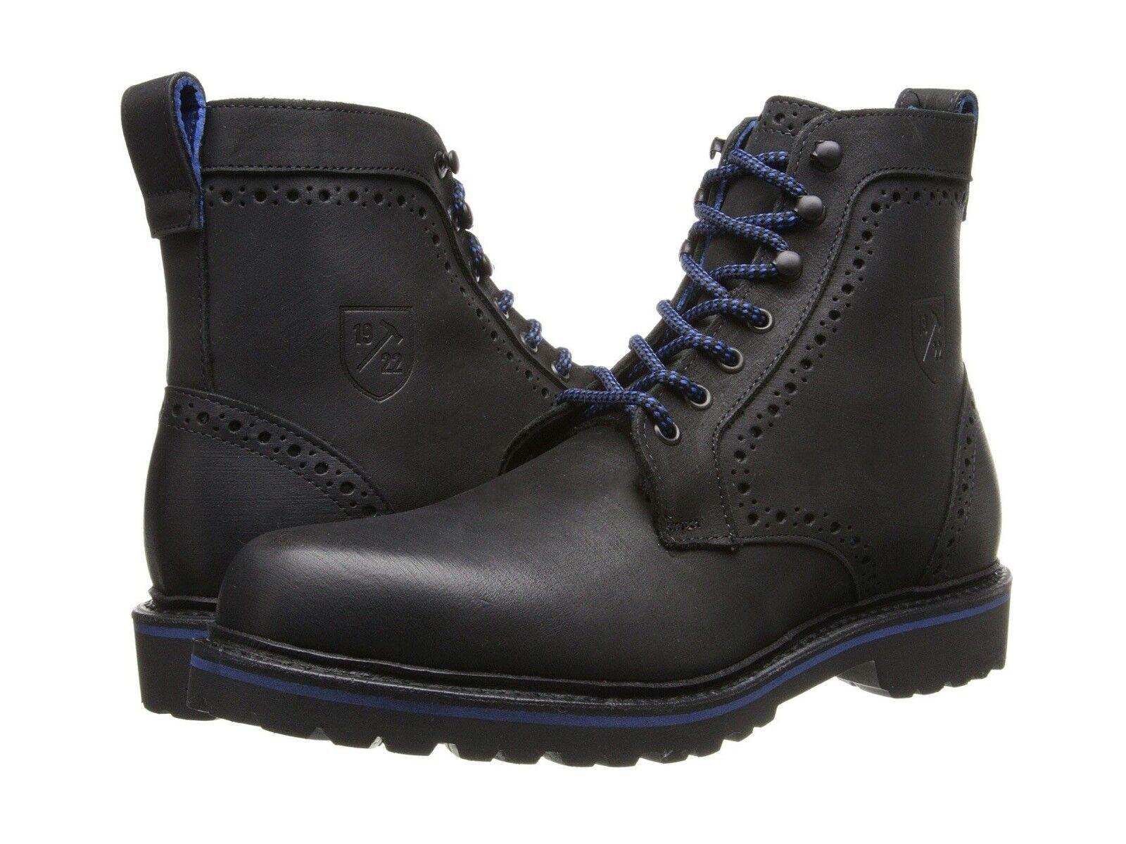 Allen Edmonds Sturgis Casual Ankle Lace Up Plain Toe Motorcycle Boots shoes