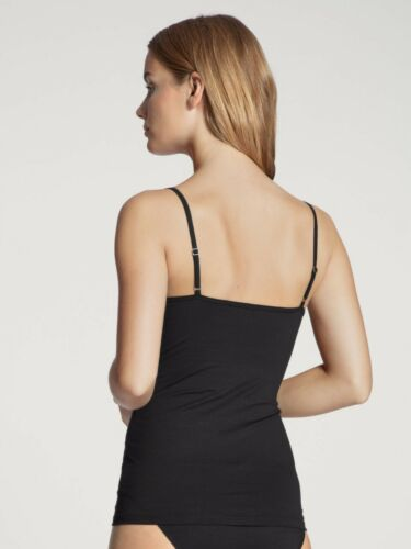 Calida 4x Damen Top Sonderpreis Gr XS-L weiß schwarz 11075 Tops Hemd Hemden