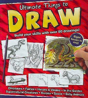 Ultimate Things to Draw (Binder), , Very Good Book