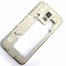 Genuine Samsung Galaxy S5 G900 rear side chassis+camera glass+USB cover grade C