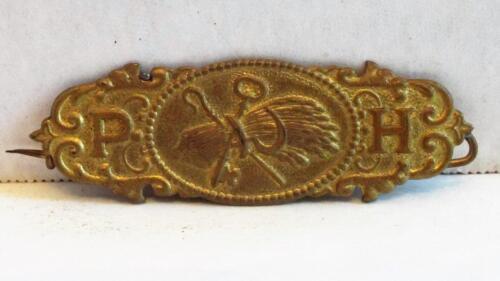 Vintage Patrons of Husbandry ornate PIN P of H Grange Wheat Sheaf