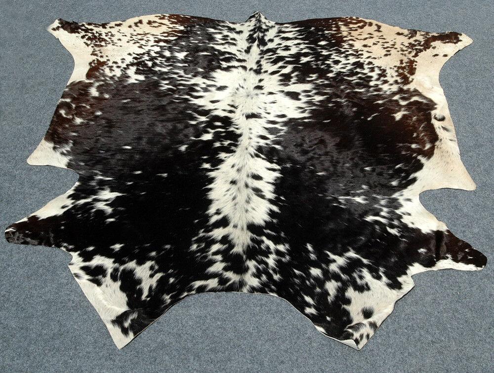 """New Cowhide hairon hairon hairon rug cowhide leather skin area Calf Rug ULG 5007 (60"""" X 60"""") de8d34"""