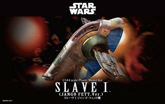 Bandai Star Wars Slave I Jango Fett Version 1:144 Scale Model Kit Plastic