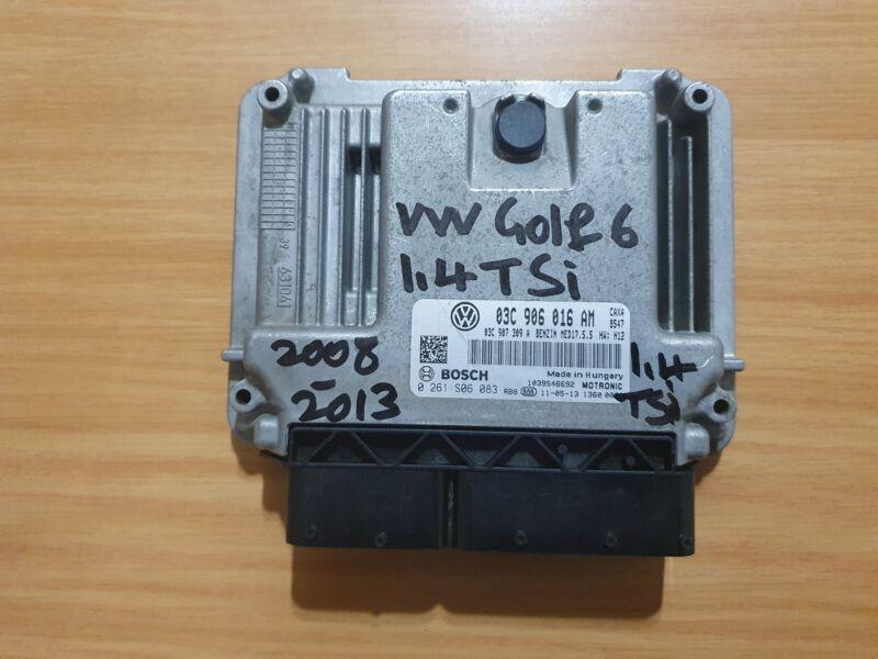 VW Golf 6 1.4 TSI CAXA 2008-2013 Bosch ECU part #03C 906 016 AM