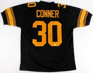 6a36e80033c James Conner Signed Steelers Color Rush Jersey (TSE) Pittsburgh #1 ...
