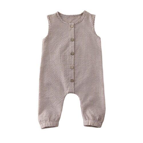 US Newborn Baby Boy Girl Romper Bodysuit Jumpsuit Playsuit Summer Clothes Outfit