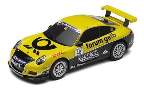 Scalextric Porsche 997 GT3 RS - DHL Forum yellow C3079