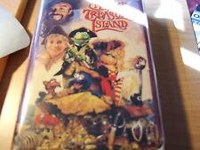 Disney/Henson Muppet Treasure Island VHS White Clamshell Case