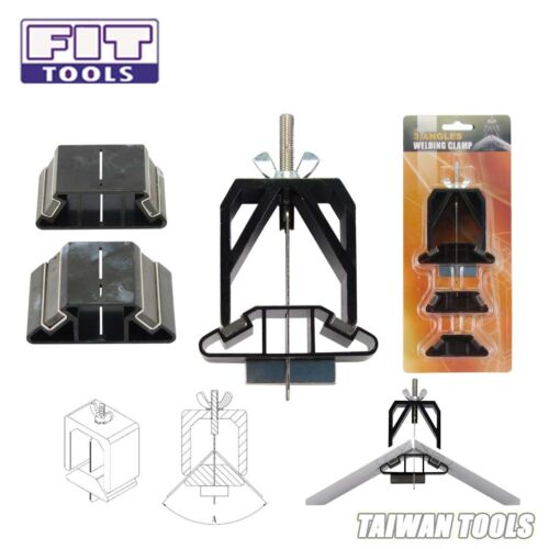 FIT TOOLS 3 Angles 60, 90 120 Degree Sheet Metal Welding Clamp