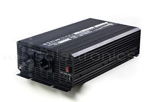 Kleiner Kühlschrank Watt : Spannungswandler 3000 6000 watt 12v 230v inverter wechselrichter neu