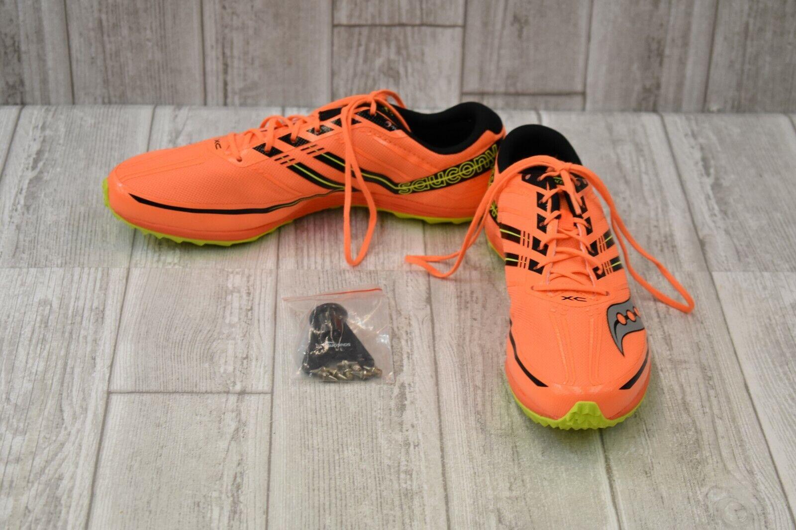 Saucony Kilkenny XC7 Spike Racing shoes - Men's Size 11, orange