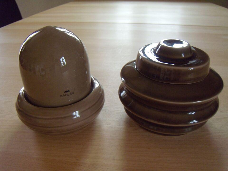 Keramik, lågkrukker, Kähler – dba.dk – Køb og Salg af Nyt og Brugt