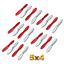 20 Hubsan X4 H107 Rotorblätter V939 UFO Nano Loop Pet Spyforce Ladybird Blade