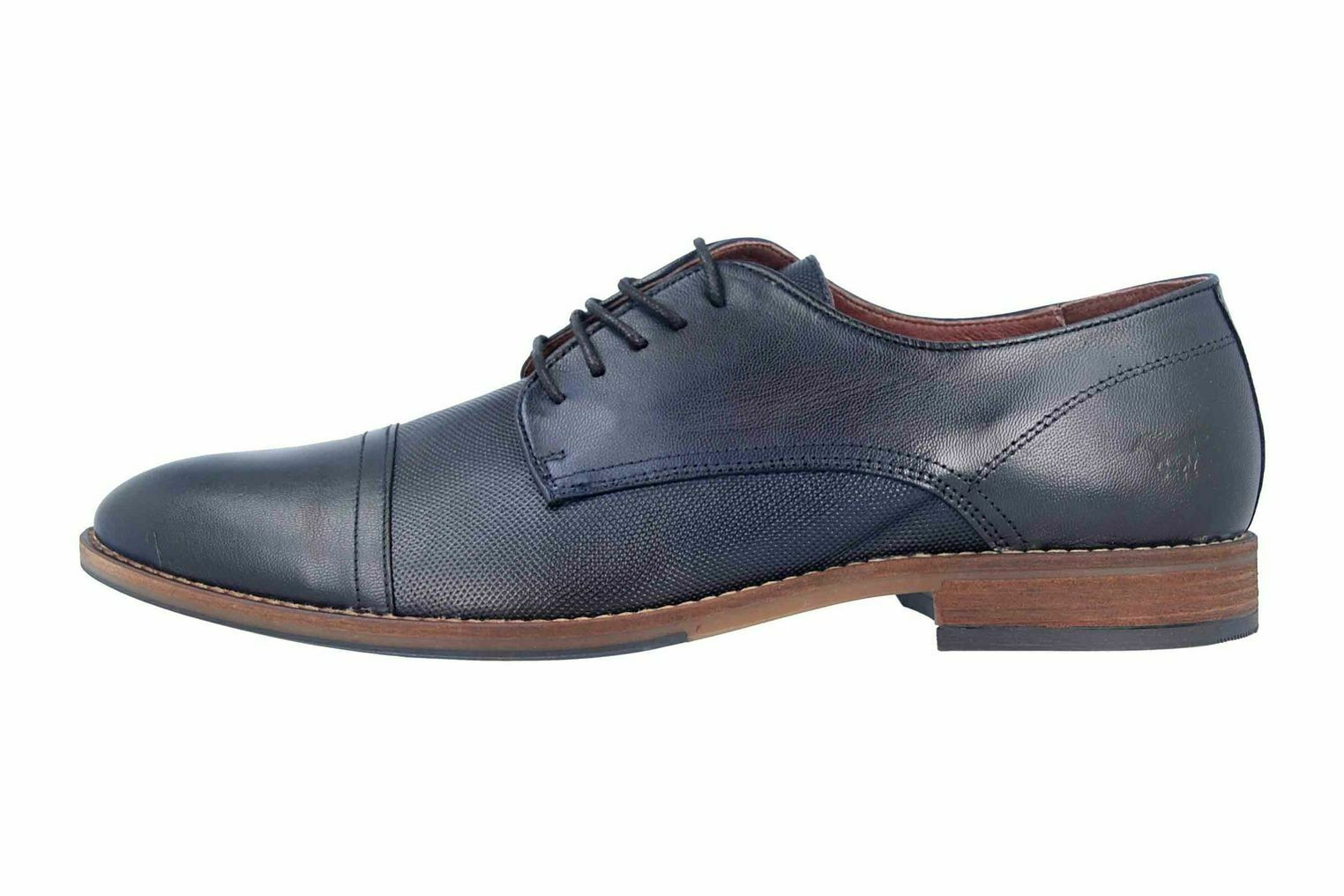 Mustang shoes Low shoes in Plus Size bluee 4904-304-820 Large Mens shoes