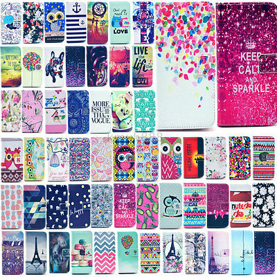 For Samsung Galaxy S6 S5 S4 S3 Vogue Magnetic Leather Money Wallet Cover Case