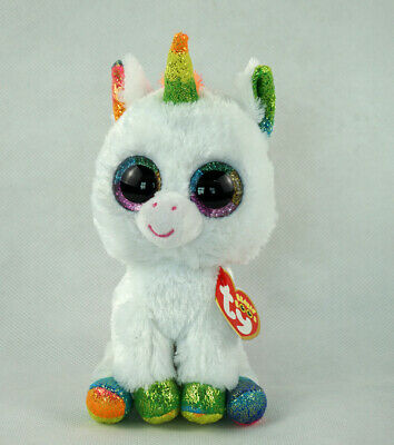 "3.2/""Beanie Boos Glitter Eyes Plush Stuffed Animals Toys Kids Xmas Gift With tag!"
