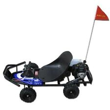 Automatic Go Kart  49CC GAS Powered ScooterCrew Racing Cart Motor knobby tires