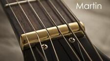 USA MADE - GeetarGizmos PURE BRASS NUT made for MARTIN Acoustic Guitar