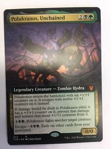 MTG-Theros-Beyond-Death-Polukranos-Unchained-Extended-Art-NM