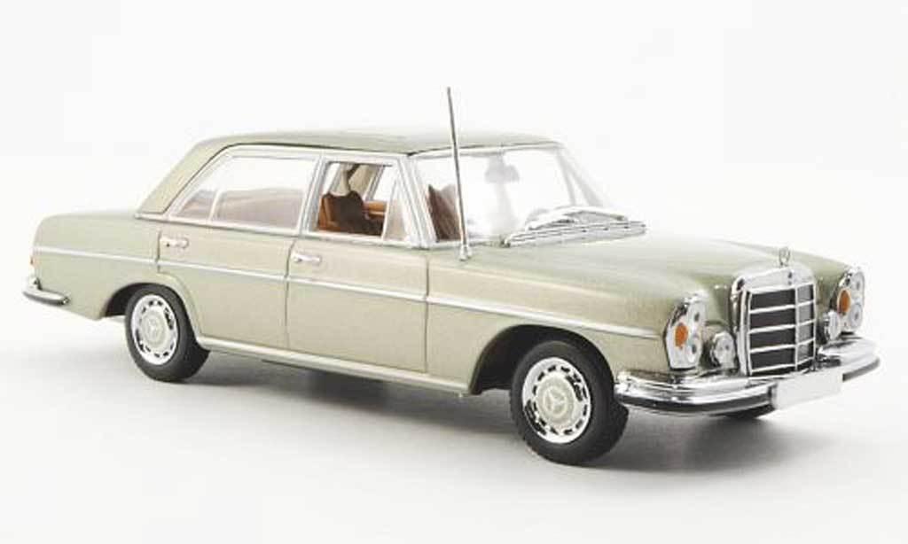 Minichamps Minichamps Minichamps 1968 Mercedes Benz 300 Sel 6.3 (W109) Metallic GreenNice 87ffe4