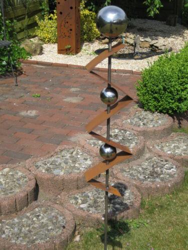 Gartenstecker ST300 Stecker Rost Skulptur deko Rostdeko Steele  Steelen