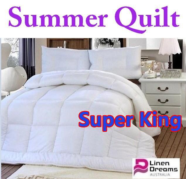 SINGLE,DOUBLE,QUEEN,KING,SUPER KING--SUMMER QUILT--LIGHT WEIGHT