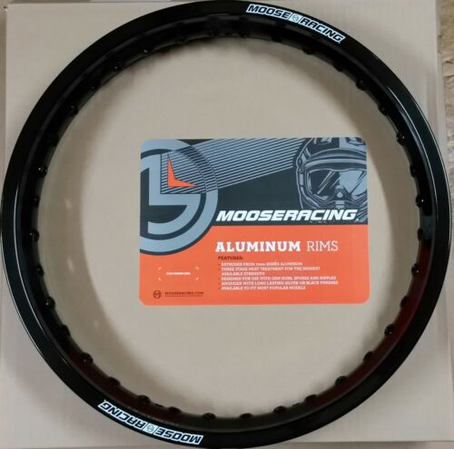 "Moose Hinterrad Felgenring 18/"" 2,15 Zoll KTM EXC 125 250 350 450 500 Schwarz"