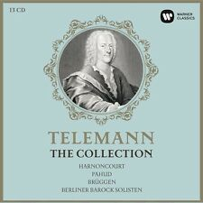 TELEMANN - THE COLLECTION - N.HARNONCOURT/F.BRÜGGEN/+ LIMITED EDITION 13 CD NEU
