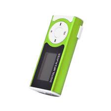 stylischer mp3 Player frühlings-grün, Clip & DISPLAY 32GB SD-Slot aufladbar *NEU
