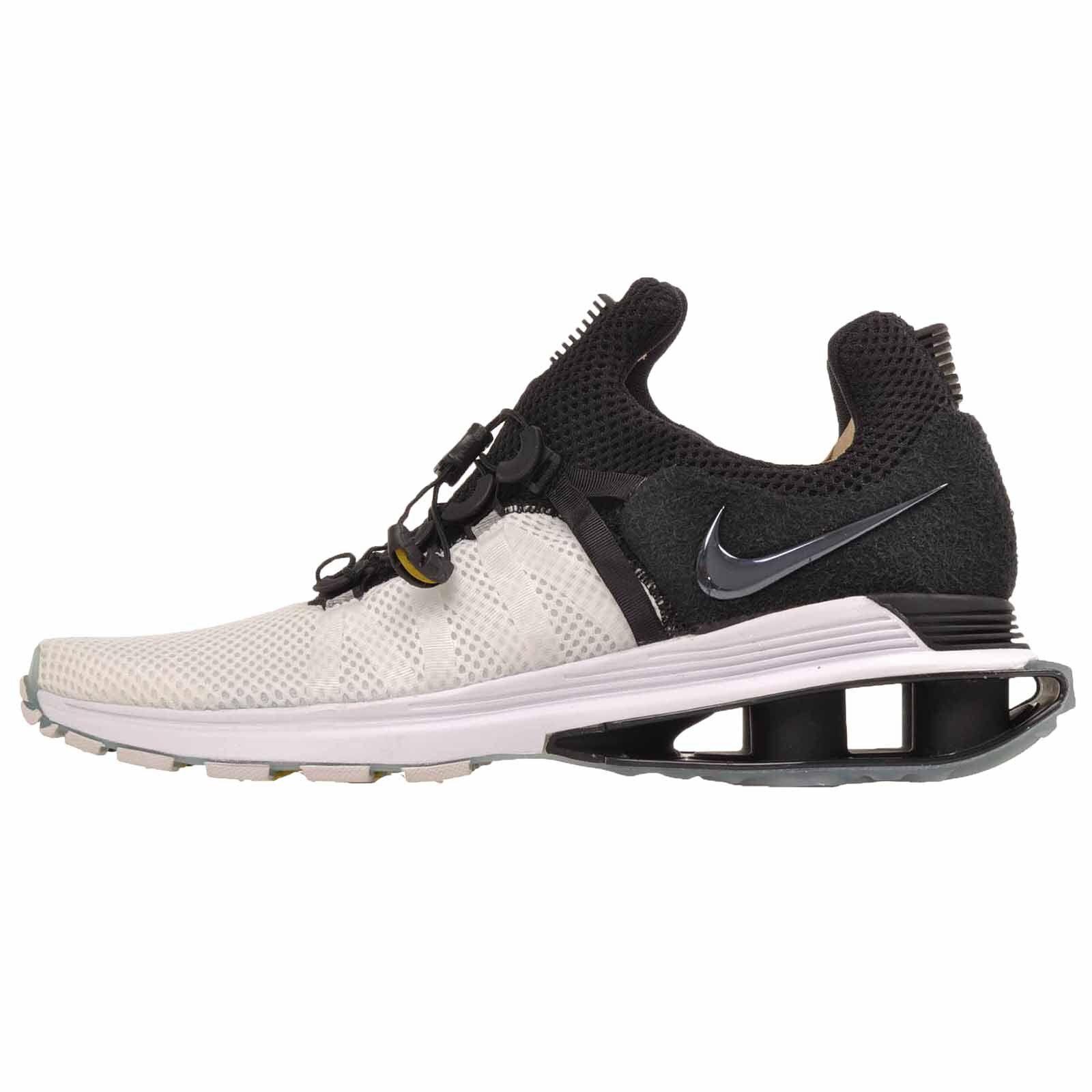 40b9fba664fa Nike Shox Gravity Running Running Running Mens Shoes White Black AR1999-101  feaae5
