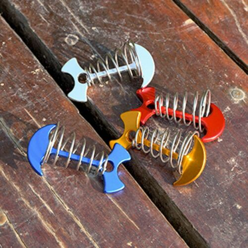Hook Tent Deck Spring Camping Fishbone Anchor Hook Durable Accessories