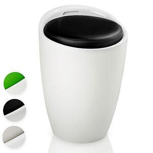 Sgabello per bagno scatola per il lavanderia bucato contenitore cesto ebay - Sgabello contenitore bagno ...