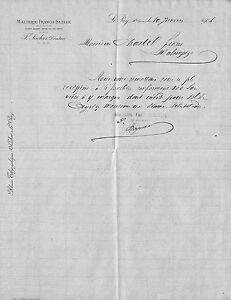 43 Le Puy Courrier Malterie Franco-suisse Sacher Directeur 1904 Ripmfcoc-07220735-354691193