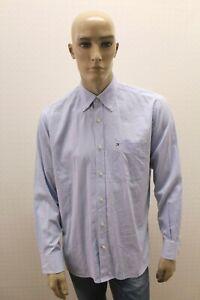 Camicia-TOMMY-HILFIGER-Uomo-Shirt-Chemise-Camisa-Blusa-Man-Taglia-Size-M