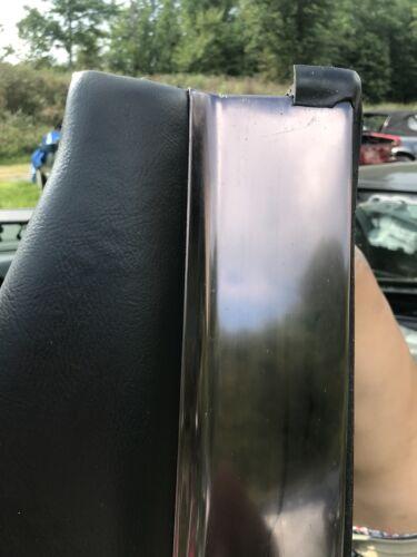 SL320 600 Black Leather Toneau Cover Lid 500 500SL Mercedes Benz R129 300