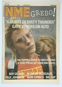 NME-25-July-1987-Gaye-Bykers-Boy-George-Wynton-Marsalis-Paul-Johnson-Big-Zap