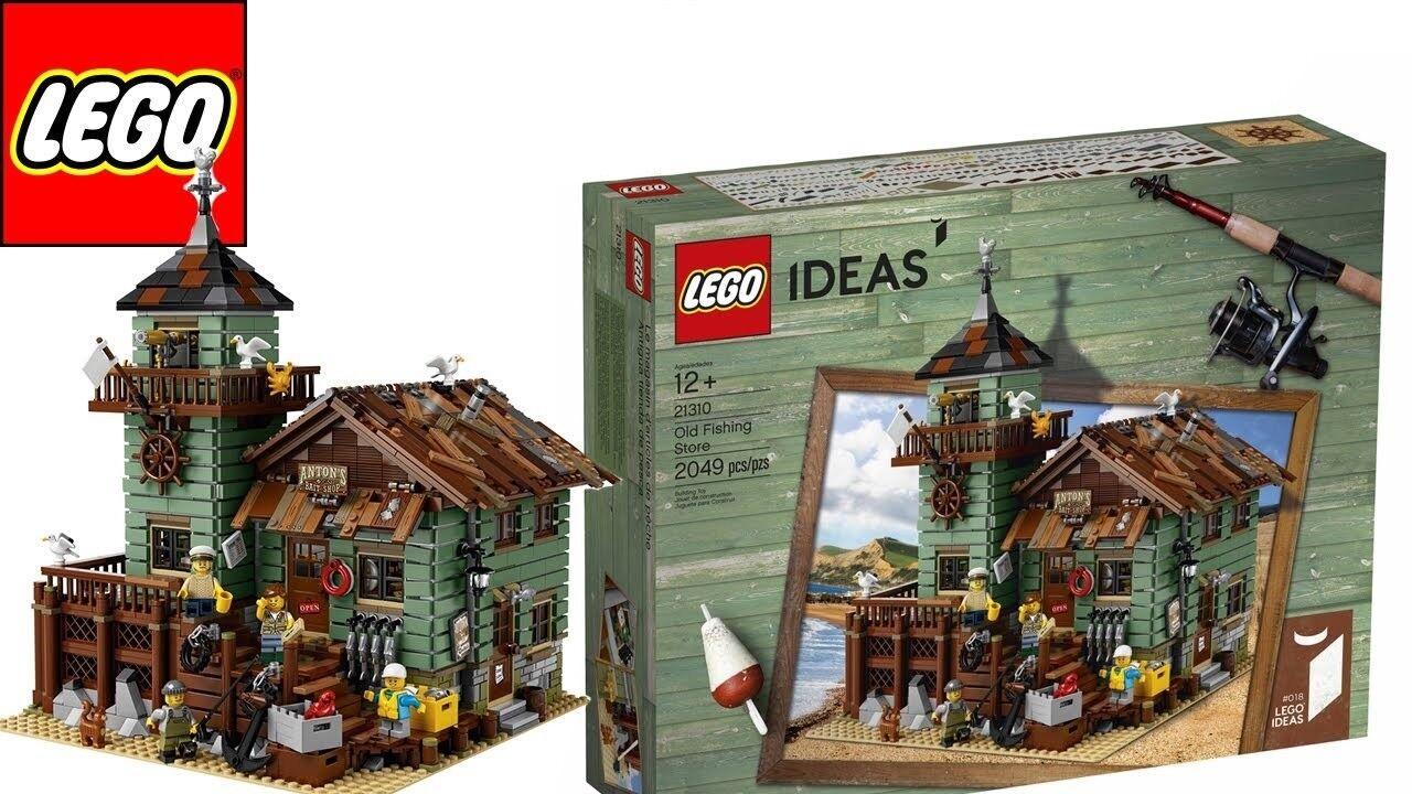 Lego Ideas Old Fishing Store (Sealed) (Very RARE New) Lego Ideas