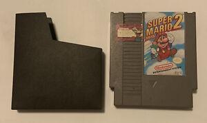 Super Mario Bros. 2 Nintendo Entertainment System Game with Sleeve
