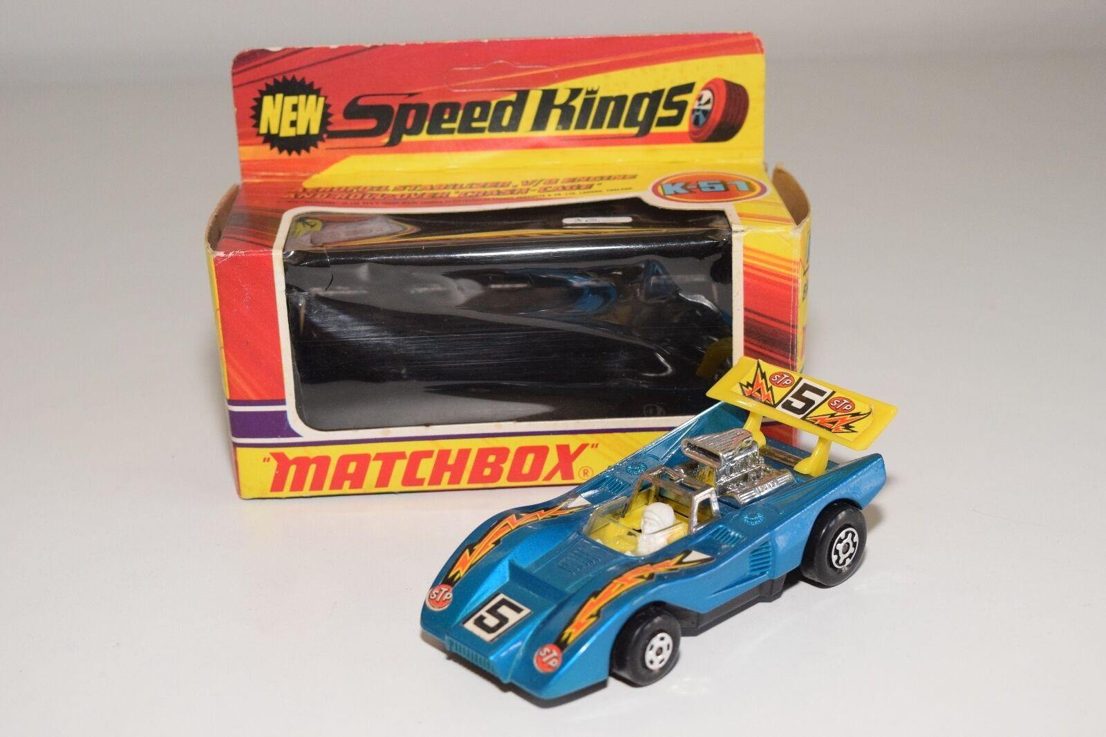 \ \ matchbox speed kings k-51 k51 k 51 barracuda in mint umzingelt