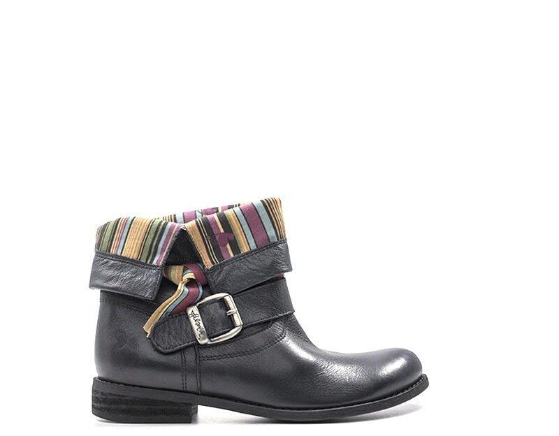 shoes FELMINI Femme black Cuir naturel 8247LAV-NE
