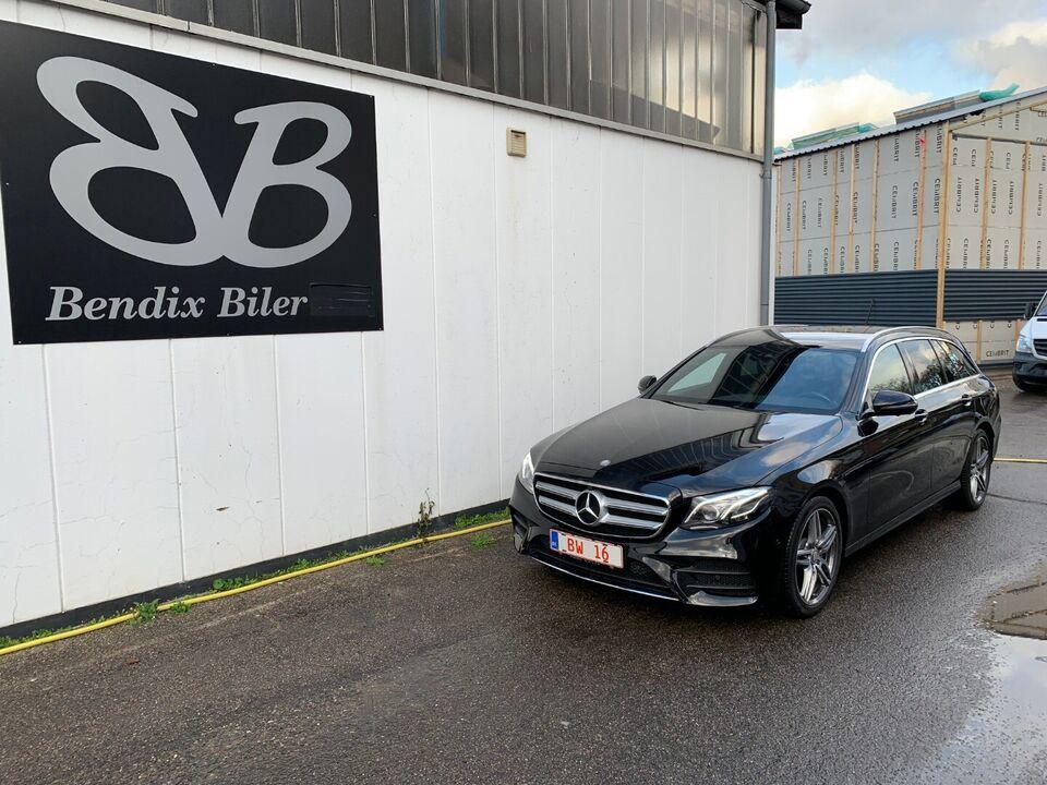 Mercedes E250 2,0 stc. aut. Benzin aut. Automatgear